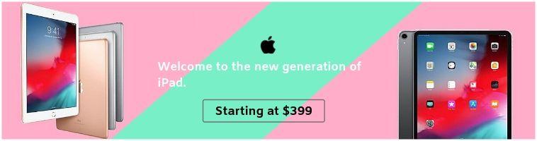 Apple Deals on ipads