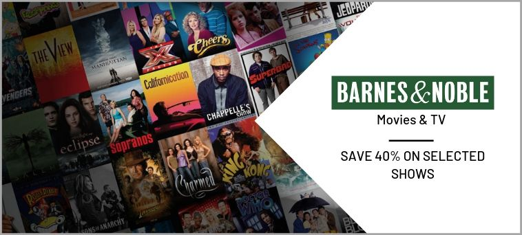 Barnes & Noble Deals on Movies & TV