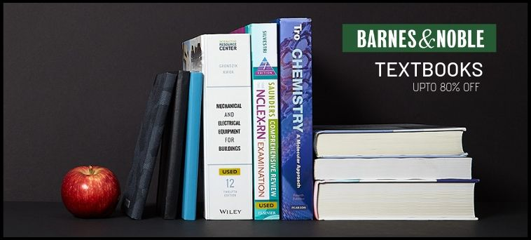 Barnes & Noble Deals on Textbooks