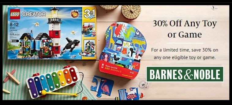 Barnes & Noble Deals on Toys