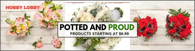 Hobby Lobby Deals on Floral and Wedding