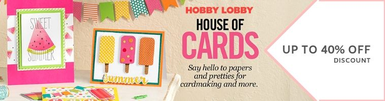 Hobby Lobby Deals on Paper Crafts