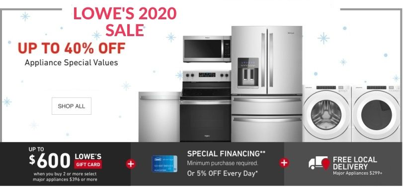 Lowe's Upcoming Sale