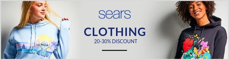 Sears Deals on Clothing