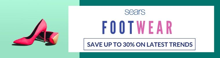 Sears deals on Footwear