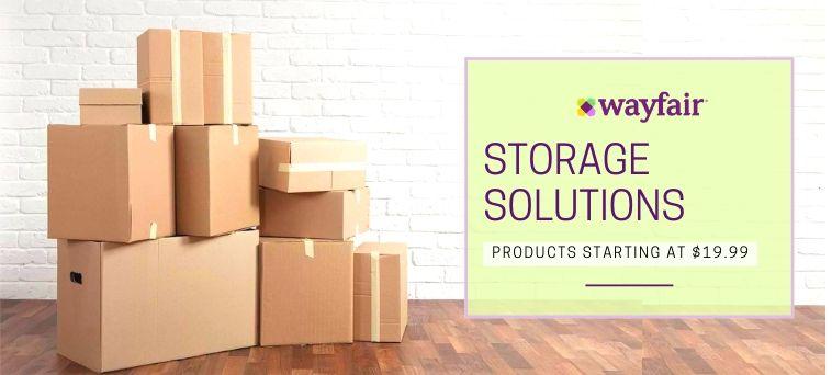 Wayfair Deals on Storage