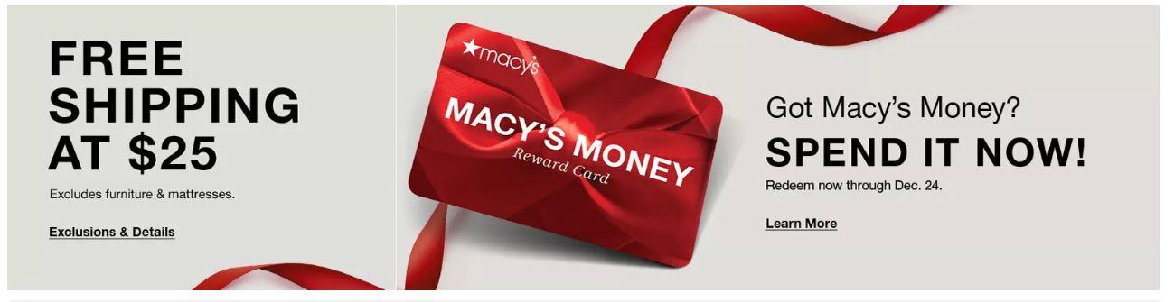 Macy's Reward Card