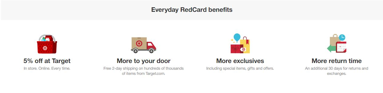 Redcard benefits